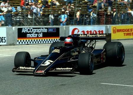 Lotus 78 com Mario Andretti