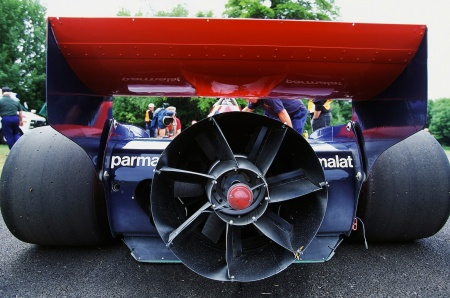 Detalhe do Brabham BT 46.