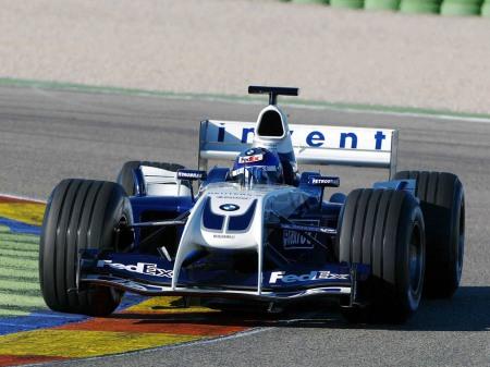 Williams FW26, com Juan Pablo Montoya ao volante.