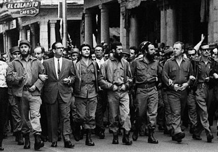 Fidel Castro e membros do Movimento 26 de Julho, em foto clássica da Revolução Cubana.