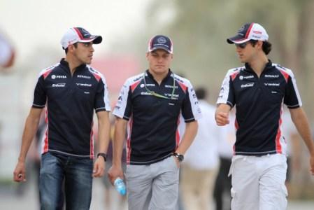 Maldonado, Bottas e Senna. Três pilotos para dois carros, e o brasileiro poderia ter feito mais.