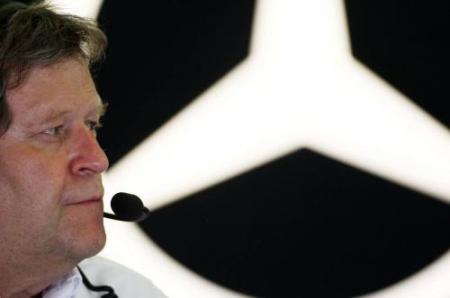 Norbert Haug: de saída da Mercedes.